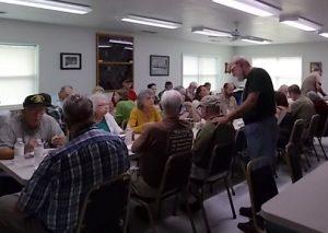 Community Pot Luck Dinner at Brasstown Community Center