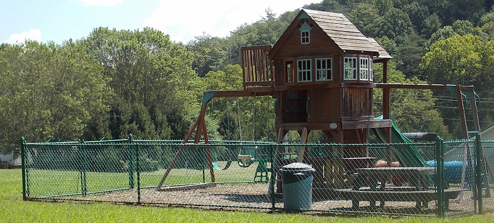 Brasstown Community Civic Center Playground - Brasstown, NC