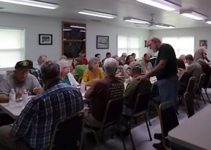Community Pot Luck Dinner at Brasstown Community Center